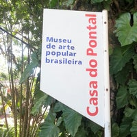 Photo taken at Museu Casa do Pontal by Robson R. on 2/13/2013