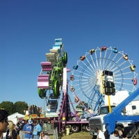 Photo taken at North Carolina State Fairgrounds by Sandhya R. on 10/13/2012