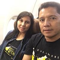 Photo taken at GA610 CGK-UPG / Garuda Indonesia by Agustina A. on 4/3/2017