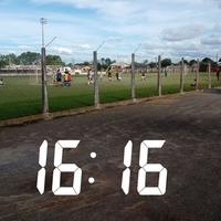 Photo taken at Estádio, Grêmio Esportio Pedro Osório ( GEPO ) by Kleberson C. on 3/25/2018