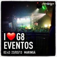Photo taken at G8 Eventos by Rodrigo D. on 3/23/2013