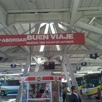 Photo taken at Central de Autobuses de Xalapa (CAXA) by Tona´s D. on 9/26/2012