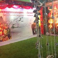 Photo taken at วัดใหญ่อินทาราม พระอารามหลวง by Aum S. on 2/3/2017