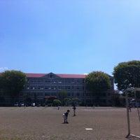 Photo taken at 盛岡市立大慈寺小学校 by Gen K. on 5/12/2013