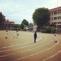 Photo taken at 盛岡市立大慈寺小学校 by Gen K. on 5/18/2013
