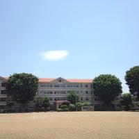 Photo taken at 盛岡市立大慈寺小学校 by Gen K. on 6/1/2014