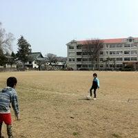 Photo taken at 盛岡市立大慈寺小学校 by Gen K. on 4/14/2013