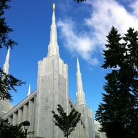Photo taken at Portland Oregon Temple by Aaron W. on 7/4/2013