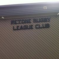 Photo taken at Petone Rugby League Club by Trevor L. on 11/22/2014