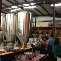 Photo taken at Hardywood Park Craft Brewery by Natalie on 4/14/2013