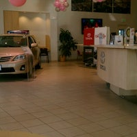 Photo taken at Jerry's Toyota by George F. on 10/23/2012