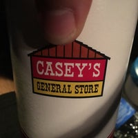 Photo taken at Casey's General Store by Brian B. on 7/15/2016