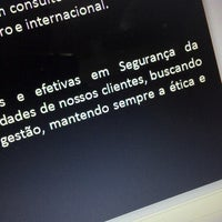 Photo taken at Segurança Da Informação - FG by Arthur P. on 8/30/2013