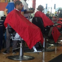 Photo taken at All Star Cuts Barbershop by Gaetan P. on 10/14/2012