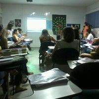 Photo taken at Faculdade Leão Sampaio (FALS) by Lanynha C. on 6/4/2013
