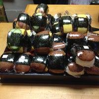 Photo taken at Musubi Cafe IYASUME by Steph on 10/18/2012