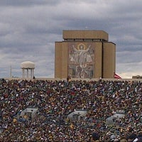 Photo taken at Notre Dame Stadium by Jeff S. on 9/21/2013