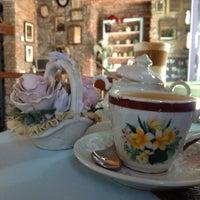 Photo taken at Amada Cafe by Globetrottergirls D. on 3/25/2013