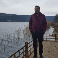 Photo taken at Abant Gölü Kamp Alanı by Fikret K. on 11/13/2016