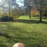 Photo taken at Wilcox Park by Kayla M. on 11/3/2012