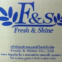 Photo taken at Fresh & Shine Co.,Ltd by Mickypie O. on 9/19/2013