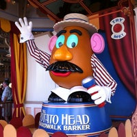 Photo taken at Toy Story Midway Mania! by Angela H. on 11/3/2012