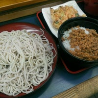 Photo taken at 小諸そば 九段下店 by guinnessbook on 4/15/2014