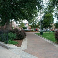 Photo taken at Library Park ( ann street / almond street) by Ivy Agnes N. on 8/6/2013