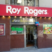 Photo taken at Roy Rogers / Nathan's by Ivy Agnes N. on 3/9/2013