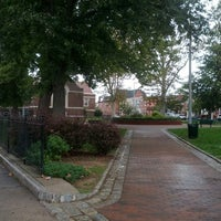 Photo taken at Library Park ( ann street / almond street) by Ivy Agnes N. on 10/15/2012