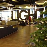 Photo taken at Lufthansa Senator Lounge B by Mirek N. on 12/16/2012