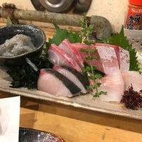 Photo taken at 鰓呼吸 麻布十番店 by Takuo U. on 10/29/2017