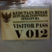 Photo taken at Embassy of the Republic of Indonesia by Tiantian L. on 3/27/2013