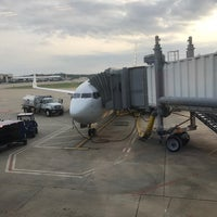 Photo taken at Gate B37 by Julie S. on 8/28/2017