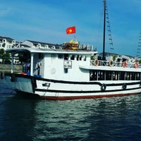 Photo taken at Halong Bay Cruises by Adrian A. on 9/30/2016