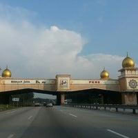 Photo taken at Pintu Gerbang Bernam Jaya by Andrew H. on 3/25/2013