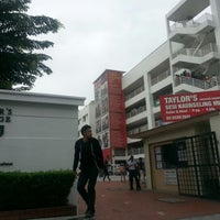 Photo taken at Taylor's College Subang Jaya by Andrew H. on 1/16/2013