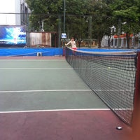 Photo taken at Sân Tennis Phòng Không by Salvatore B. on 4/19/2013