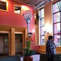 Photo taken at Dewick-MacPhie Dining Hall, Tufts University by Craig L. on 10/12/2012