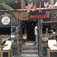 Photo taken at Papillon Pub by Orçun K. on 7/28/2013
