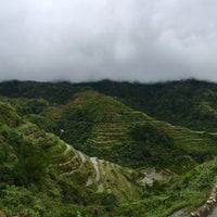 Photo taken at Banaue Rice Terraces Viewpoint by Bee on 12/10/2016