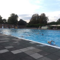Photo prise au Brockwell Lido par Alex G. le8/23/2018