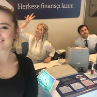 Photo taken at QNB Finansbank by Cansu K. on 5/11/2018