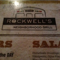 Photo taken at Rockwell's Neighborhood Grill by Ricky L. on 2/10/2013
