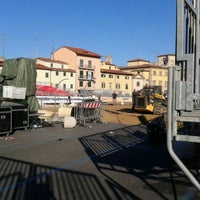 Photo taken at Piazza Mercatale by Franca P. on 9/3/2013