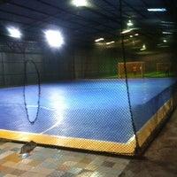 Photo taken at Anis & Eisya Danau Futsal by Abubakar M. on 1/11/2013
