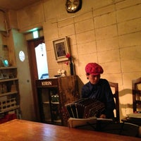 Photo taken at cafe PIGA by S O. on 5/12/2013