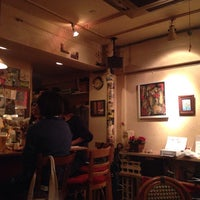 Photo taken at cafe PIGA by S O. on 10/26/2014