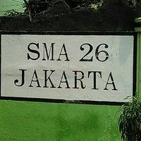 Photo taken at SMAN 26 Jakarta by Mahdesi I. on 11/17/2015