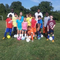 Photo taken at Conteh Soccer Academy Summer Camp by Sarah N. on 8/2/2013